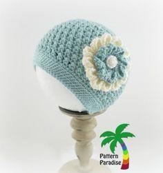 X Stitch Challenge Crochet Pattern for Julia Hat by Pattern Paradise
