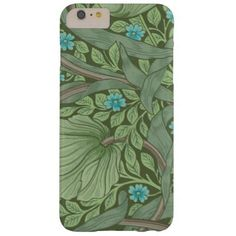 Wallpaper Pattern Sample with Forget-Me-Nots Barely There iPhone 6 Plus Case - sample design diy personalize idea