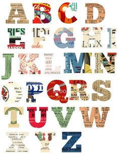 Freebie | Alphabet Printable · Scrapbooking | CraftGossip.com