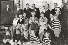 het Oranje gezin..