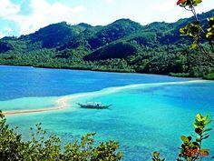 Snake island in Palawan. So amazing.