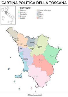 Cartina Geografica Lazio E Toscana.130 Idee Su Geografia Geografia Attivita Geografia Scuola