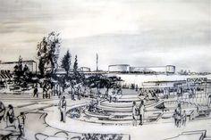 Architettura moderna. Ludovico Quaroni: in mostra al MAXXI il progetto urbano per San Giuliano alle Barene - Architettura