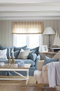 Grimstad — DIVINE DESIGN OSLO Aarhus, Oslo, Coastal, Cabin, Couch, Furniture, Design, Home Decor, Settee