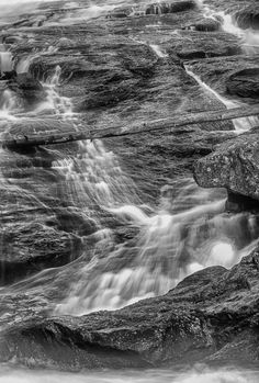 Montana Waterfall! The Thrill Society Galleries offering custom, fine art photography prints made to order at: http://thethrillsociety.com/category/photography-art-galleries/ #waterfall #montanascenery #blackandwhite #nature #montanascenery