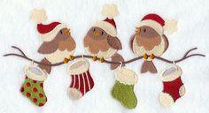 Very Merry Christmas Birds