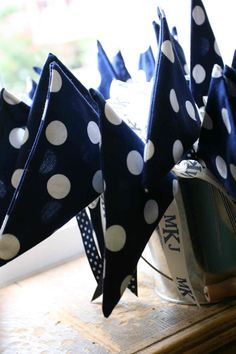 Wedding Send off Flags - we will choose different fabric if we do this…wonder what the cost would be vs. sparklers, bubbles, etc.?