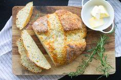 Rosemary and cheddar Irish soda bread