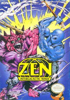 Zen: Intergalactic Ninja NES Front Cover