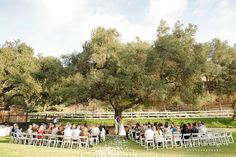 we ❤ this!  moncheribridals.com  #outdoorweddingceremony  #weddingaisle