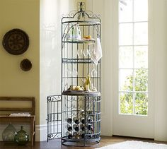 Caldera Wine Tower #potterybarn  MUST HAVE THIS!!!!!!