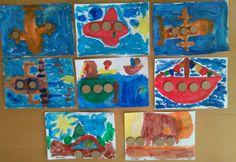Maľovanie a lepenie drievok Painting, Art, Art Background, Painting Art, Kunst, Paintings, Performing Arts, Painted Canvas, Drawings