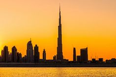Burj Khalifa – Dubai.