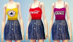 My Sims 4 Blog: Dresses and Jumpsuits by Missfortunesims