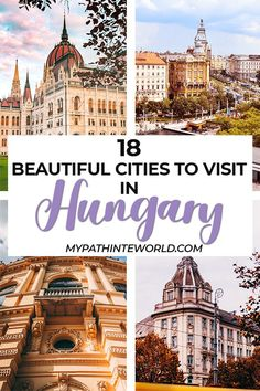 Hungary travel bucket list: 18 beautiful places and cities to visit in Hungary Europe Travel Guide, Europe Destinations, Travel Guides, Travel Advice, Places To Travel, Places To Visit, Hungary Travel, Best Cities, European Travel