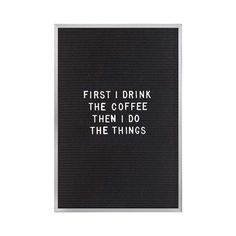 Always say what you think, especially when you can say it so stylishly. This vintage-inspired letter board is designed with an aluminum frame, traditional felt backing, and mounted hooks for easy hangi...  Find the Alma Letter Board, as seen in the At The Drive-In Collection at http://dotandbo.com/collections/at-the-drive-in-2?utm_source=pinterest&utm_medium=organic&db_sku=122562