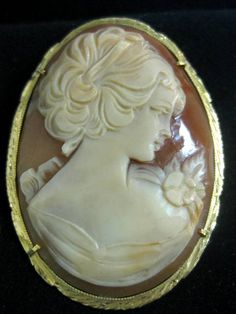 A beautiful antique cameo