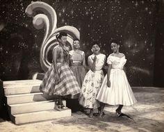 Amigas: La Mora, Omara y Elena.