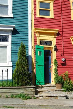 Scoff And A Scuff Houses In St John S Newfoundland Find This Pin More On East Coast Doors