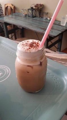 Brooklyn in Helsinki. Iced Latte, Latte Recipe, Original Recipe, Helsinki, Milkshake, Glass Of Milk, Red Velvet, Brooklyn, Spaces