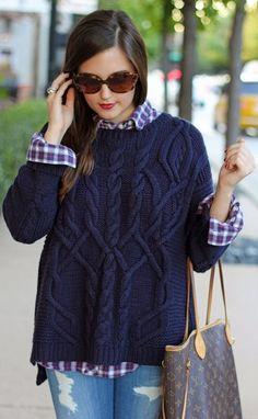 otoño--sweater03 tejer