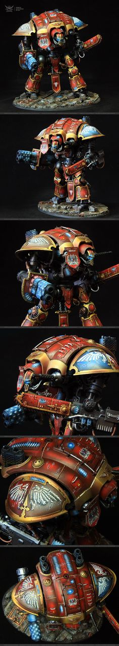 40k - Imperial Knight by quins