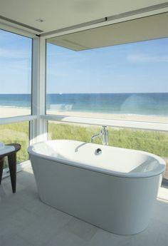 Oceanview bathroom