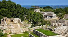 Palenque en Chiapas Mexico ...