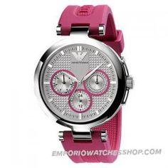 Emporio Armani Ladies Watch AR0737 Rubber Donna Sports Relojes Armani 21f1b3078a96