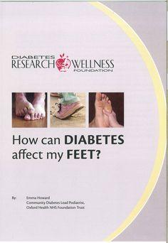 How can Diabetes affect my Feet?