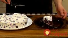 "Jednoduchá torta ""Mliečny sen"": Najlepší tvarohový krém s ovocím a jemným cestom! Butter Dish, Dishes, Basket, Tablewares, Dish, Signs, Dinnerware"