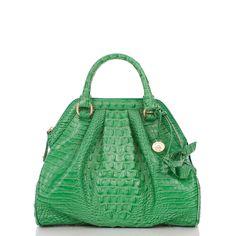 Brahmin Handbags: Green