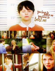 Once Upon a Time - Emma Swan and Snow White; mother and daughter