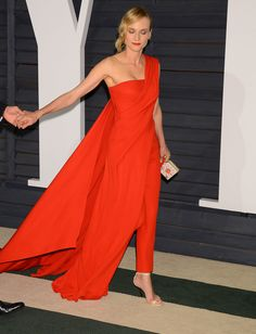 Diane Kruger In Donna Karan Atelier at the 2015 Vanity Fair Oscar Party Cute Outfits With Shorts, Short Outfits, Classy Outfits, Pretty Outfits, Stylish Outfits, Beautiful Outfits, Cool Outfits, Fashion Outfits, Girly Outfits