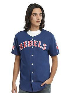 Star Wars Rebel Baseball Jersey, BLUE, hi-res