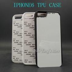 Wholesale 2D Sublimation Blank rubber TPU+PC Case for iphone 6 with Aluminum Inserts and glue Free Shipping! 50pcs/lot iPhone Hrvatska - Najbolja online kupovina za vas ! | iPhone.hr