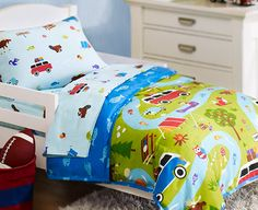 Every day is an adventure with a toddler boy. Treat him to Olive Kids Camping Trip Toddler Bedding Set Toddler Comforter Sets, Duvet Sets, Toddler Bed, Boys Room Decor, Boy Room, Kids Bedroom, Kids Rooms, Bedroom Ideas, Luxury Duvet Covers