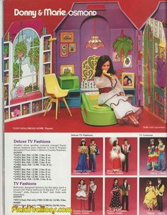 1978 mattel  Donny and Marie Osmond catalog