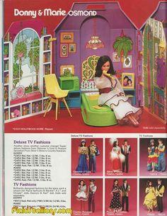 1978 mattel  Donny and Marie Osmond catalog