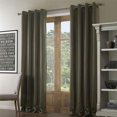 Solid Modern Eco-friendly Curtain  #curtains #decor #homedecor #homeinterior #grey