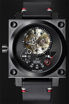 Xeric Xeriscope Squared All Black Limited Edition Watch