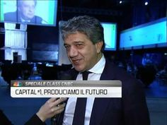 Gregorio Fogliani (QUI! Group) al summit Numeri 1 (Capital)