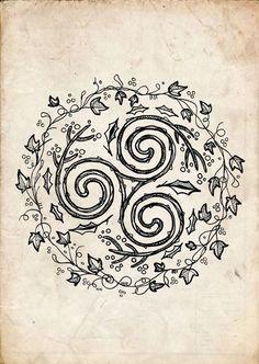Imagem de celtic, dessin, and nature …