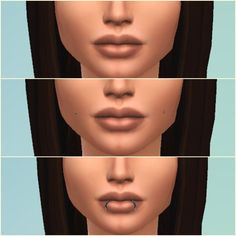 Jessie Sims 4: 3 face piercings • Sims 4 Downloads