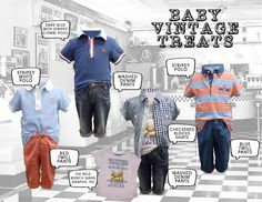 Gingersnaps Baby Vintage Treats Collection.  #Gingersnaps #GingersnapsPh #infantboys #collection #kids #baby #fashion