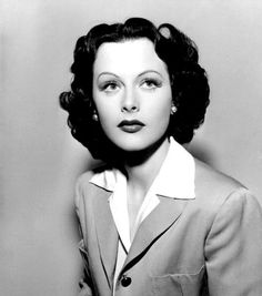 Hedy Lamarr by Clarence Sinclair Bull, Old Hollywood Glamour, Golden Age Of Hollywood, Vintage Hollywood, Classic Hollywood, Hedy Lamarr Quote, Hollywood Actresses, Actors & Actresses, Portraits, Costume