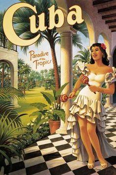 Vintage Cuba, Vintage Hawaii, Vintage Ski, Vintage Crafts, Vintage Travel Wedding, Vintage Style, Holguin, Trinidad, Salvador