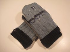 Gladwin Wool Mittens  med/lg  MMC443 by MichMittensbyLauri on Etsy, $23.00