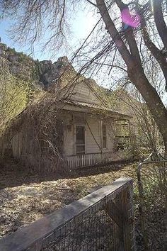 ~ Ghost Town ~ Ophir, Utah - Ghost  Town that was Redesigned & Populated as a Small Town....