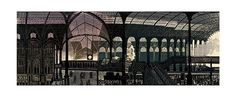 Liverpool St. Station (Giclee Limited Edition of 950) by Edward Bawden